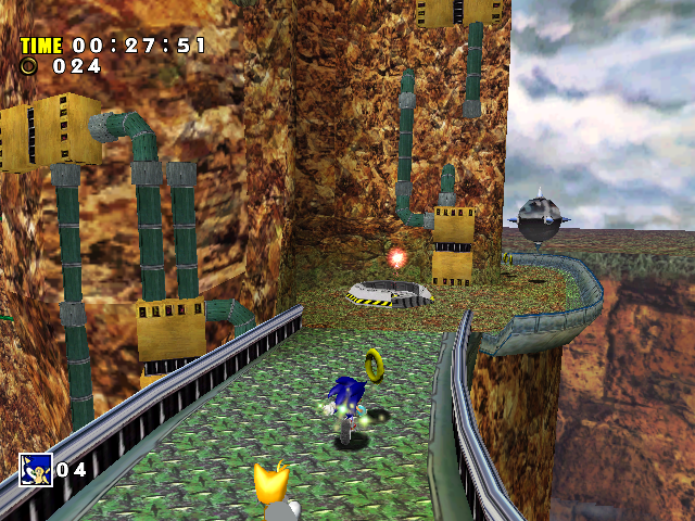 IQGamer: Tech Analysis: Sonic Adventure (PS3 & 360)