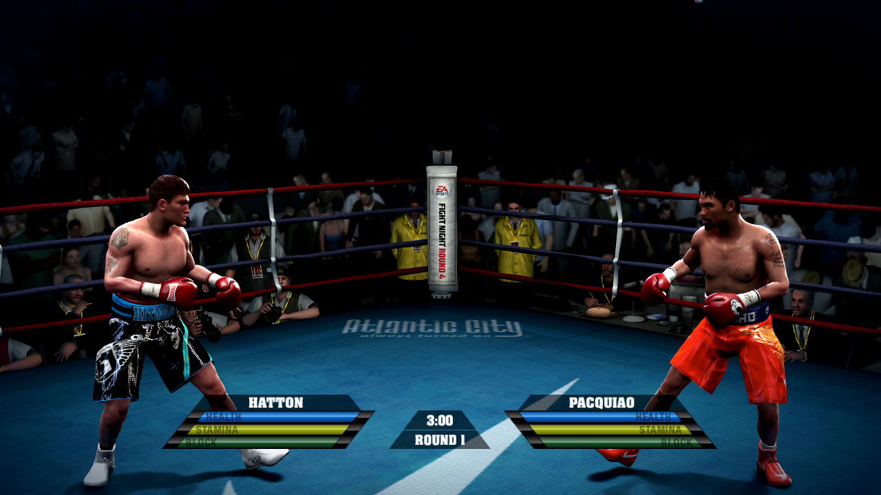 Fight Night Round 3 (USA) ISO Download PSP ISOs