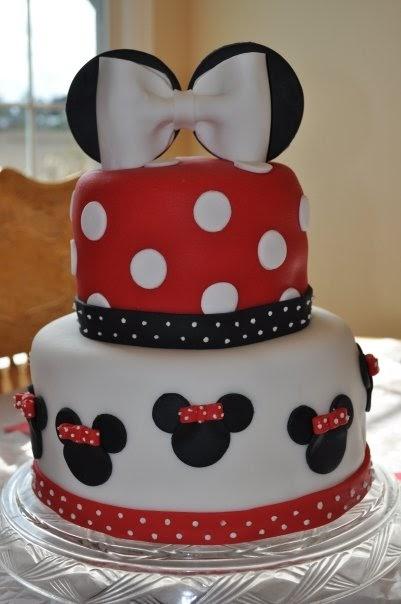 Peach Of Cake Minnie Mouse Birthday Cake