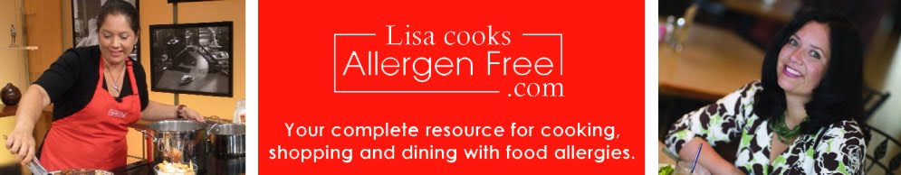 Lisa Cooks, Shops and Dines Allergen Free