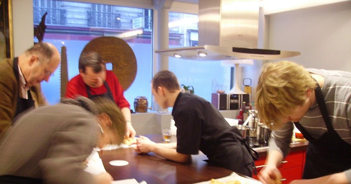 A Bride Abattue Cours De Cuisine Chez Alain Cirelli Premiere Recette