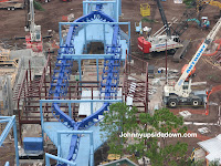 SeaWorld Manta Construction