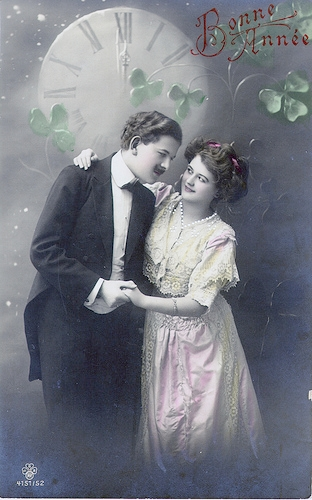 Carte postale ancienne Bonne Année