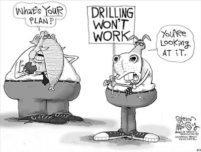 Democrat plan: Drilling won't work