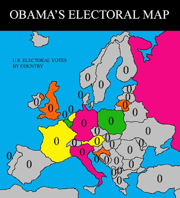 Michael Asher - Obama electorial map