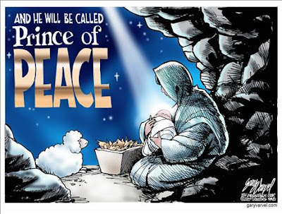 Prince of Peace by Gary Varvel