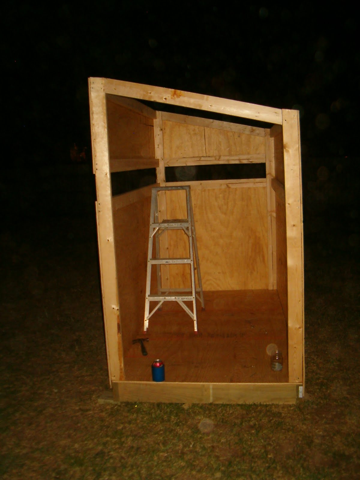 Wooden Deer Stand Designs : Dudleys diary here are some photos of the deer stand