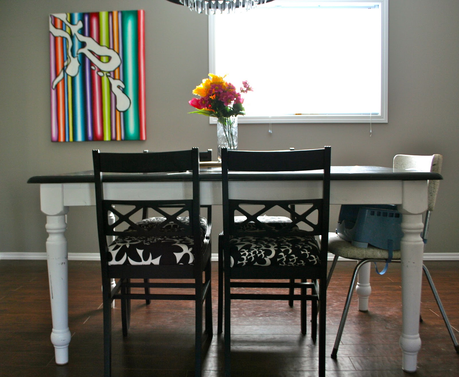 Journey's Of An Artist Mom: Refinishing A Dining Room Table