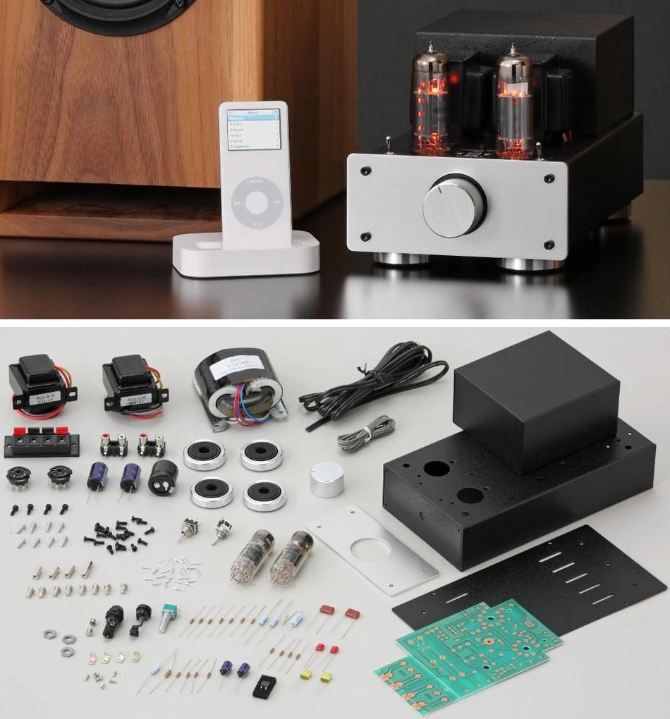 DIY Audio Projects - Hi-Fi Blog for DIY Audiophiles: Elekit 6BM8