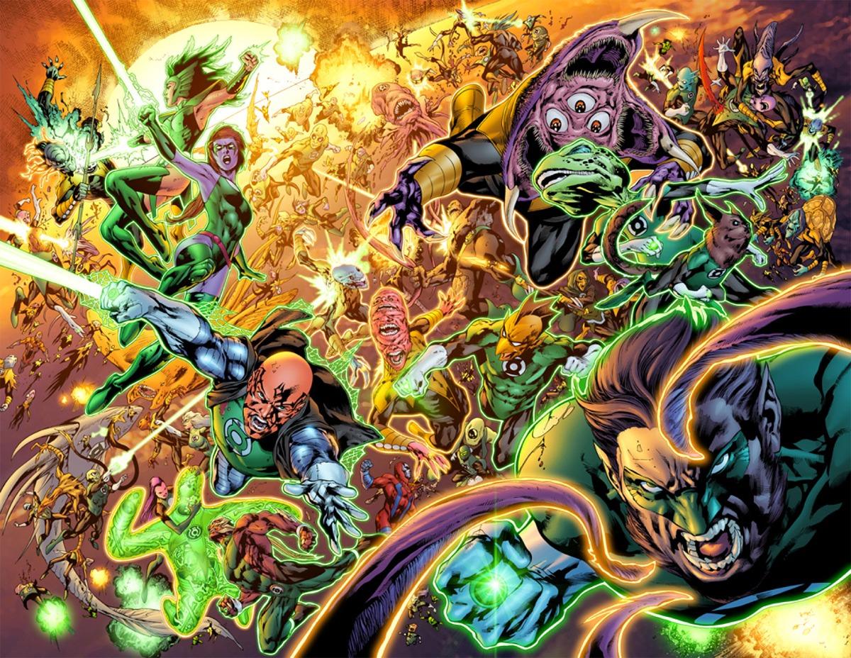 CAVEMEN GO: Sinestro Corps War
