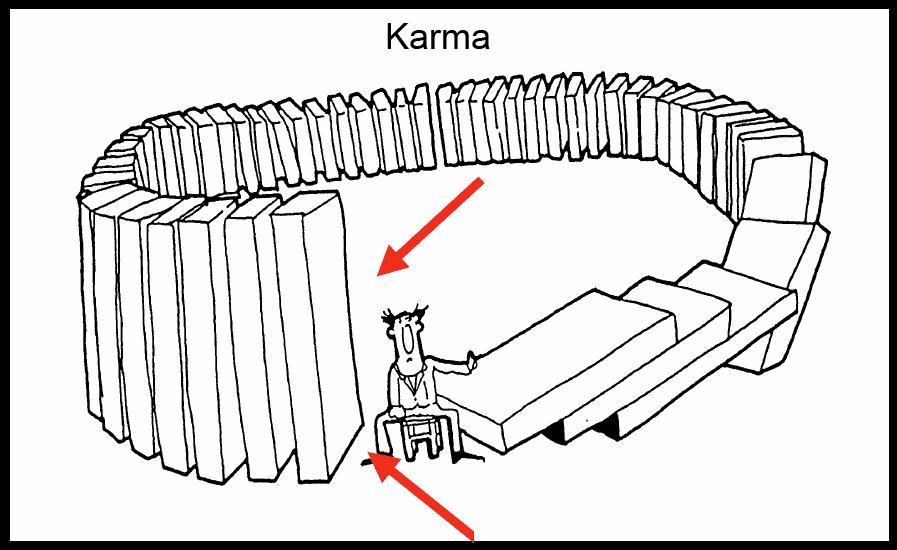 Resultado de imagen de karma