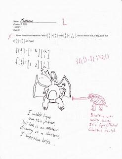Zeus is forging the forbidden knowledge: Exam's funniest
