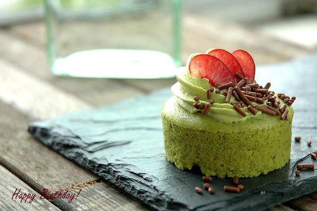 mini green tea cheesecake recipe