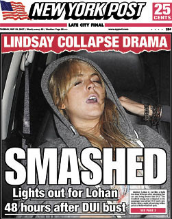 The Sad Story Behind the Passed-Out Lindsay Lohan Meme