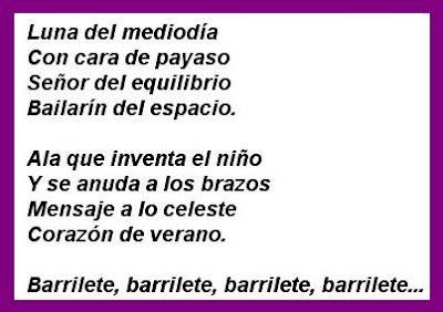 Letritas Infantiles Poema De Claudia Lars