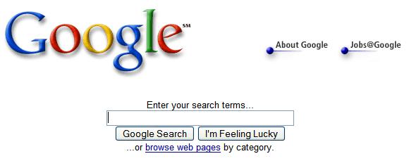 Google in 20... Google