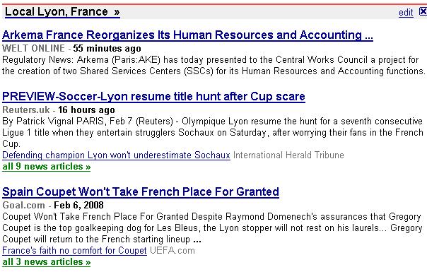 google news france international
