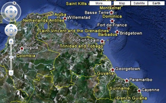 Google Earth Map Of Spain.Google Earth Tab In Google Maps