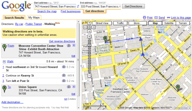 google-maps-walking-directions-sf Google Map From Address on google aerial view of property, google web address, gmail address, google home address, instagram address,
