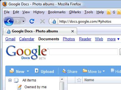 Photo Albums in Google Docs