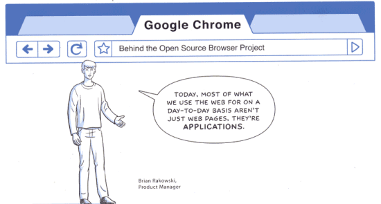 Google Chrome as the operating system for web apps