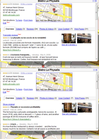 Google Operating System Translate Google Maps Reviews