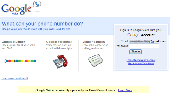 Google Voice, the New Version of GrandCentral
