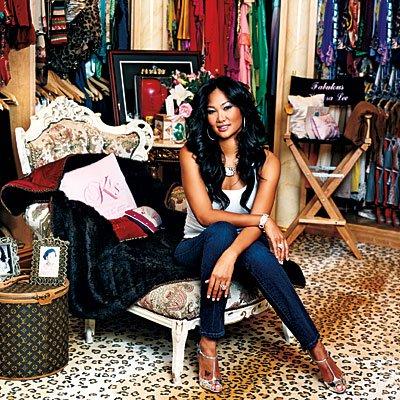 Kimora Lee Simmons closet