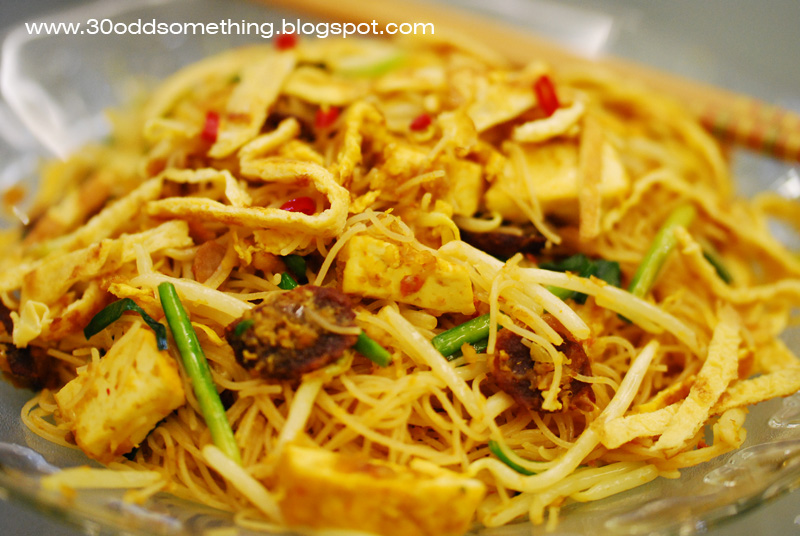 A Little of Everything: Mom's well loved Fried Mee Siam
