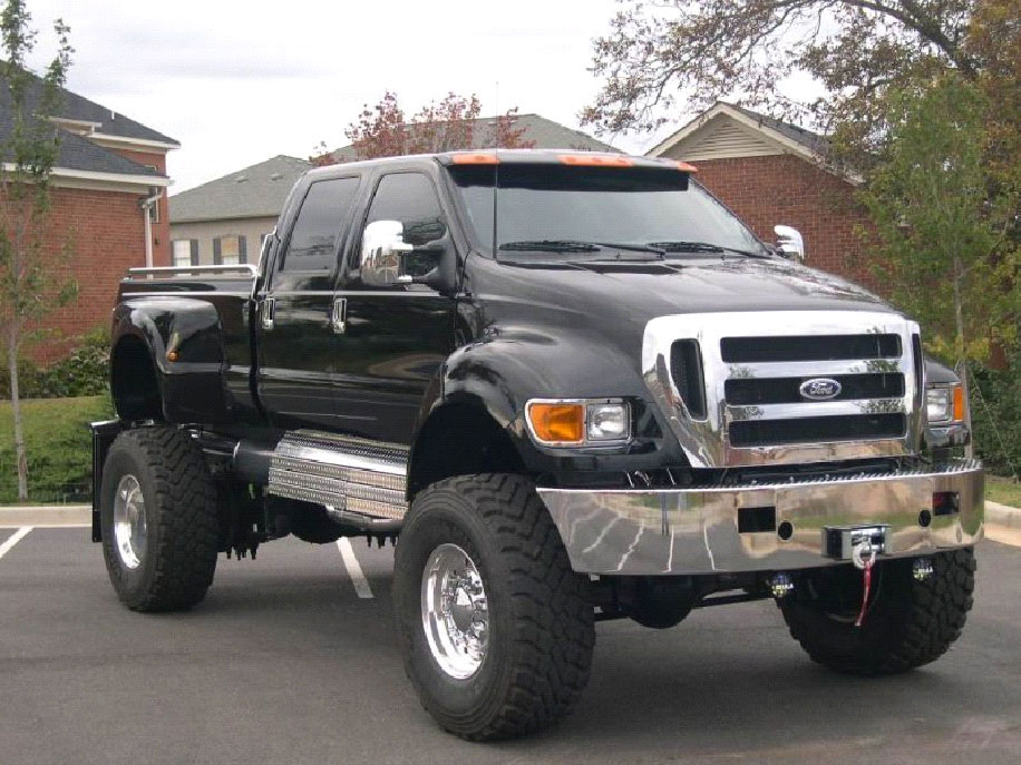 Big Ford Trucks Advantages And Specialties Of 4x4 Pickup