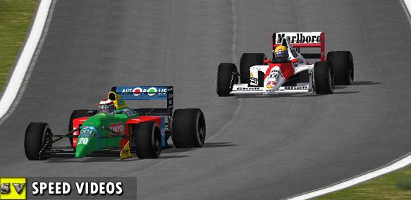 rFactor Mod F1 1990 Trackpack - Speed Videos