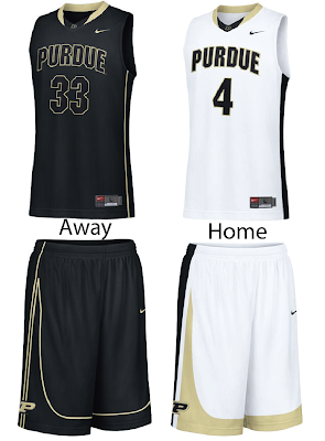 the latest 9377b f56a6 Leaked: Purdue's New Basketball Uniforms — Boiled Sports