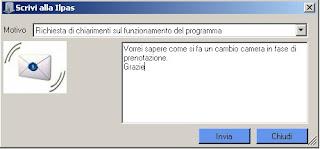 scrivici Nuovi screenshots del software