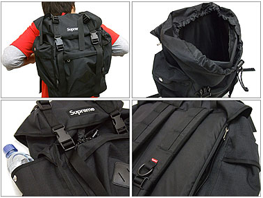 Functionality and style are key words when describing Supreme s line of  packs. Here we present a new Trekker Pack that is designed for...well 550fba59d2ceb