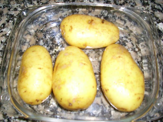 Siguiendo a nenalinda patatas a la carbonara en - Tiempo para cocer patatas ...
