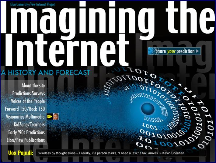 P E O P L E P O I N T S The Impact Of The Internet On Institutions In The Future Pew Internet And American Life
