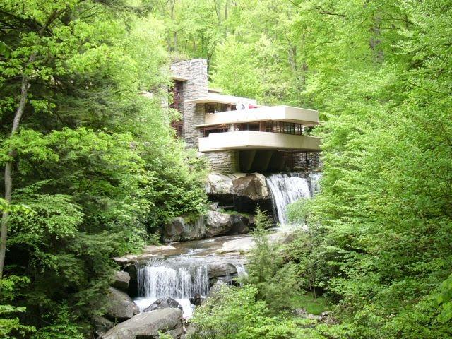 Arquitetura e arte 3 g frank lloyd wright arquitetura for Casa moderna wiki