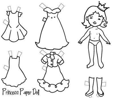 berusdankrayonkami: Paper Doll