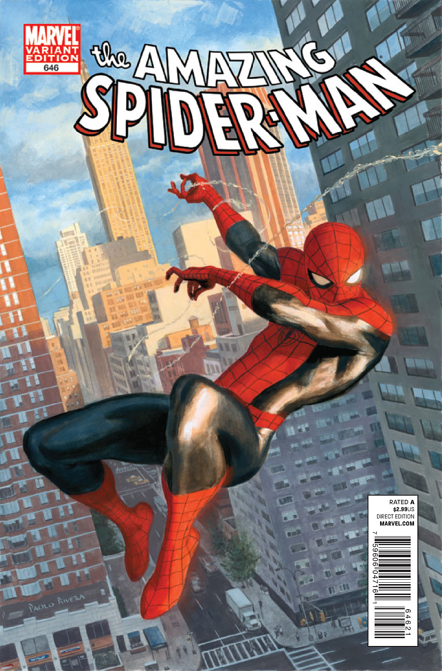 """.: HQ Preview-""""Amazing Spider-Man #646"""""""