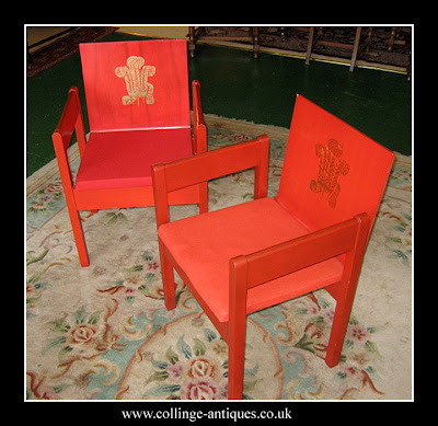 prince of wales investiture chair