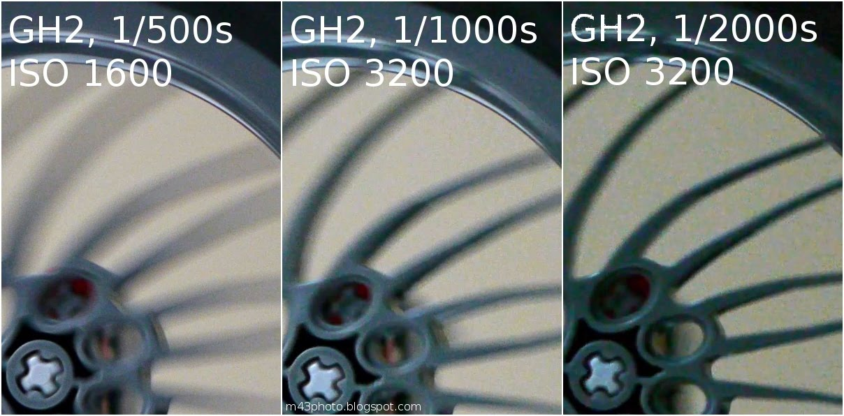 Micro 4/3rds Photography: GH1 vs GH2: Rolling shutter evaluation