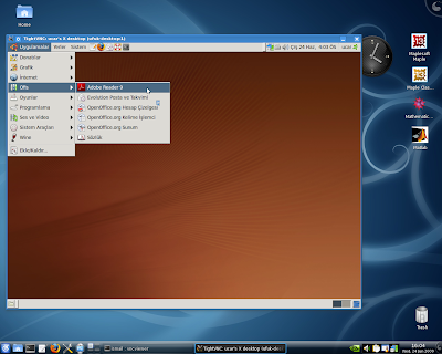 Slackware Linux Blog by İsmail: VNC Based Free Remote Control