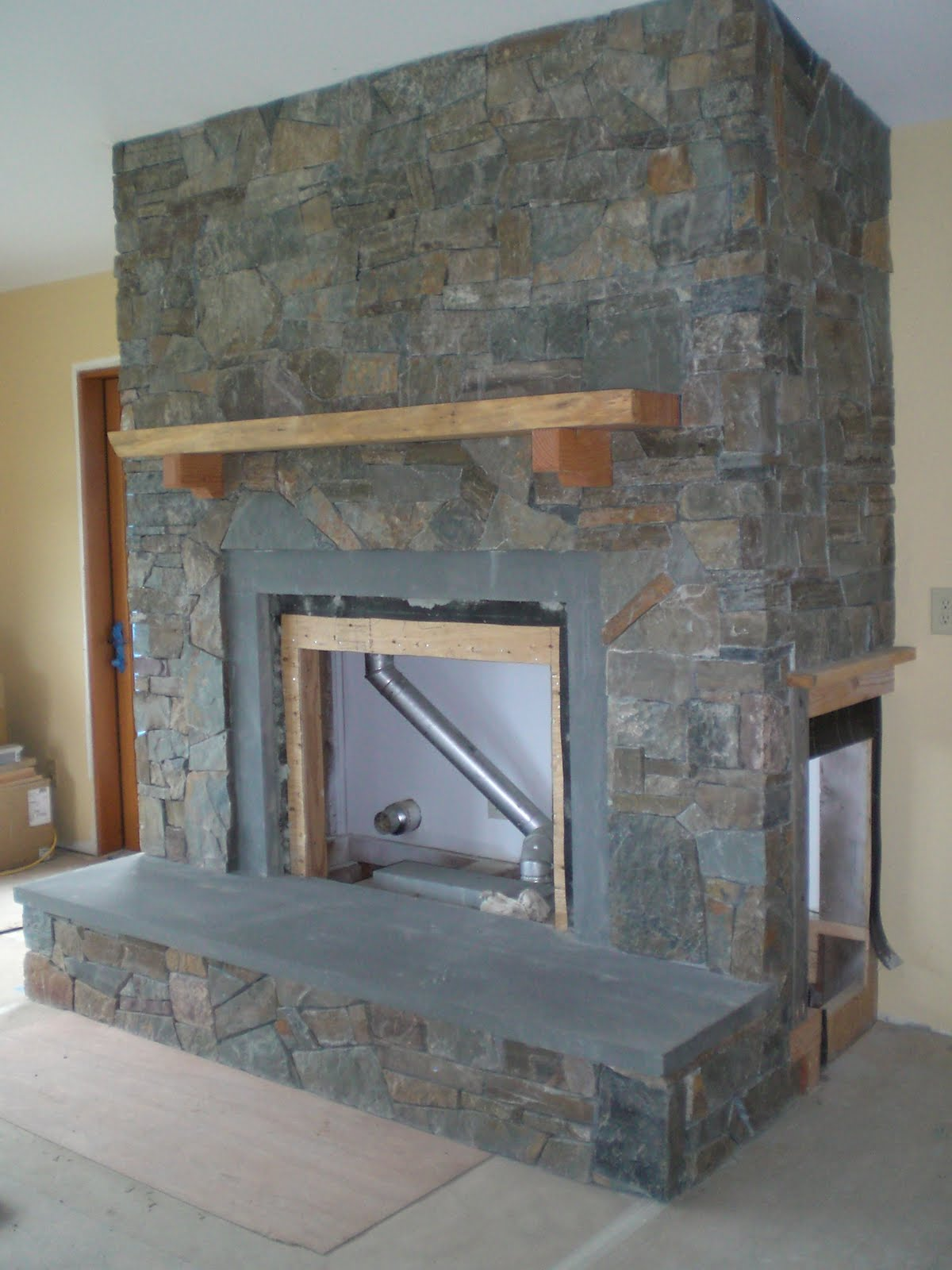 Fireplace Facade Finished