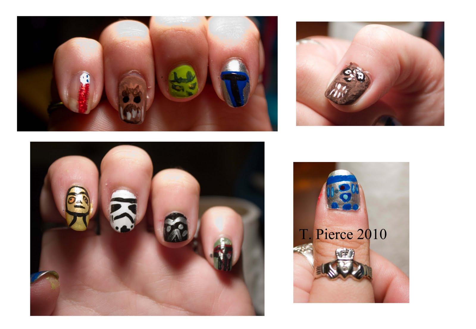 Thriftyredhead Nail Art Time Ii