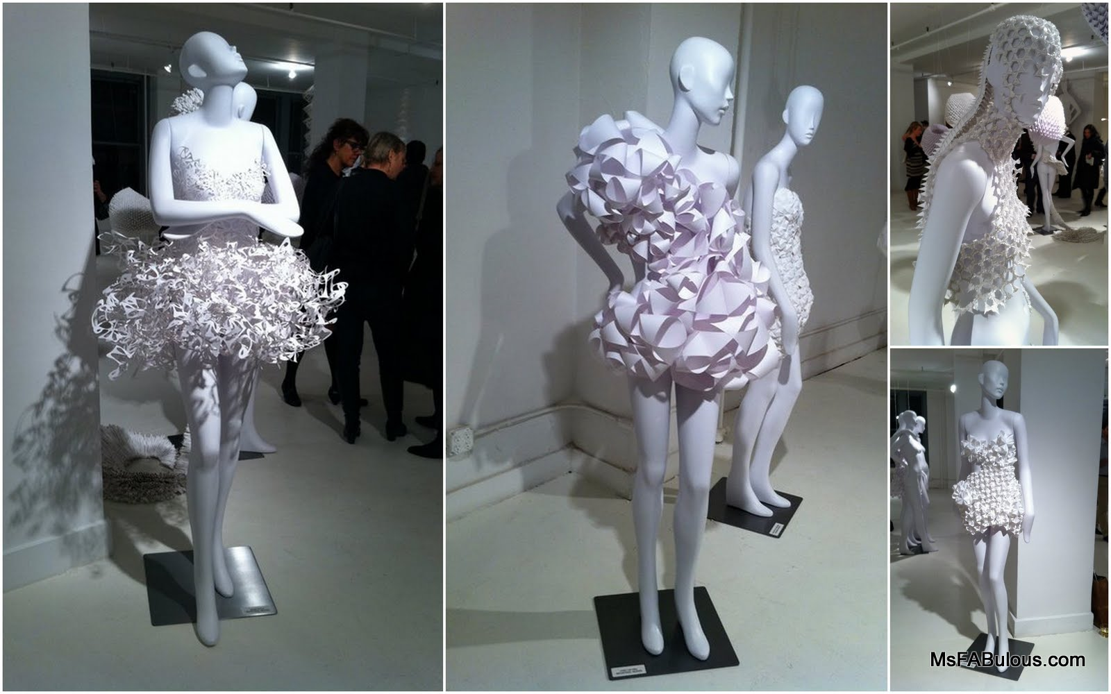 Ms Fabulous Pratt Paper Amp Ralph Pucci Exhibit Fashion