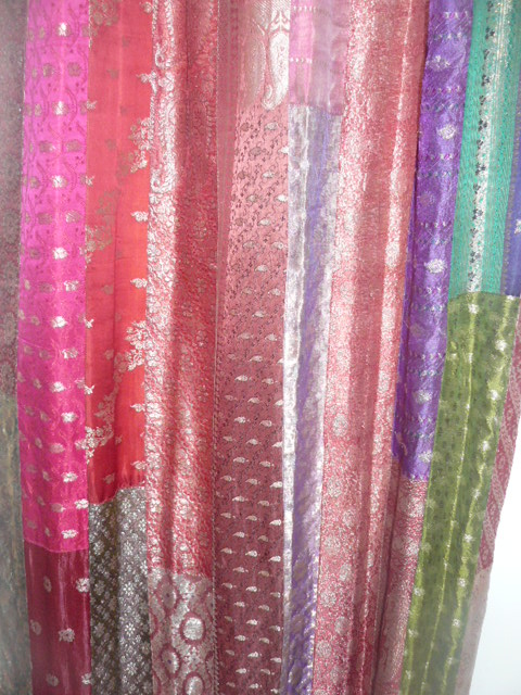 Sari Patchwork Curtain Home Design Ideas And Pictures