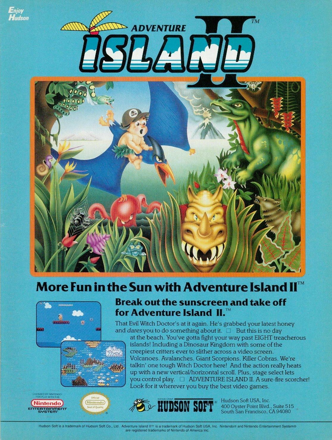 Adventure Island Game