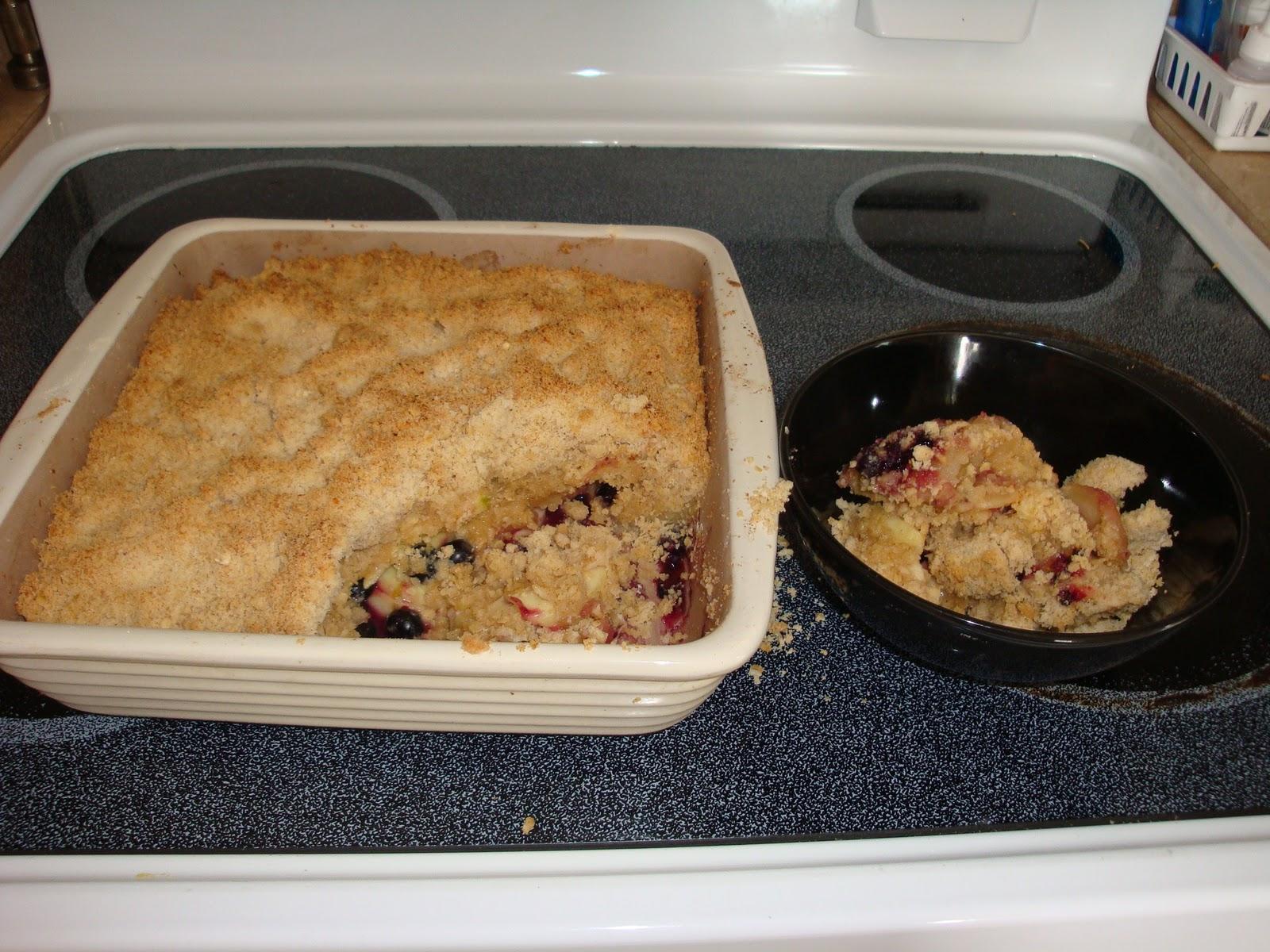 Life in a Cookie Jar: Blueberry Apple Crisp - Frugal recipe for moms ...