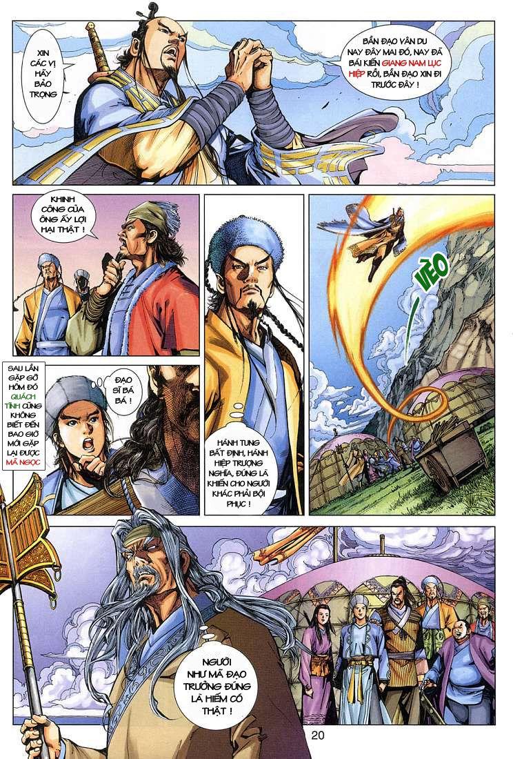 Anh Hùng Xạ Điêu anh hùng xạ đêu chap 4 trang 20