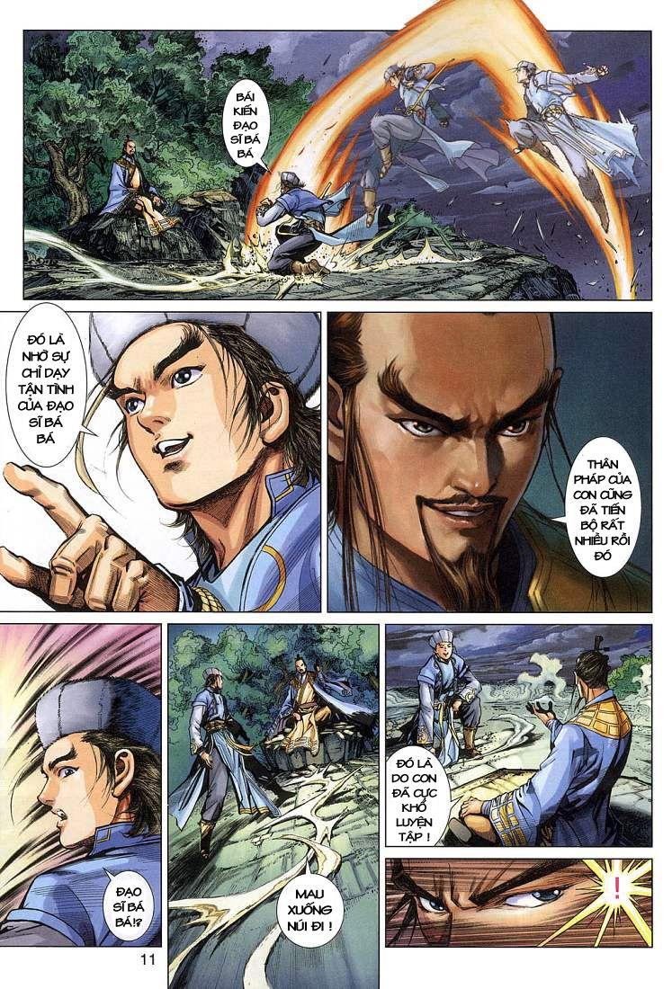 Anh Hùng Xạ Điêu anh hùng xạ đêu chap 4 trang 11